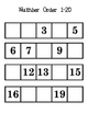 Number Order File Folder