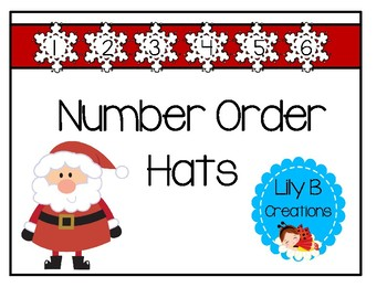 Number Order Hats For Christmas