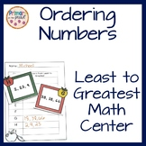 Number Order Least to Greatest