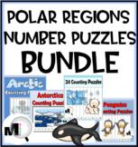 Number Order Puzzles 1-120 Bundle Polar Regions