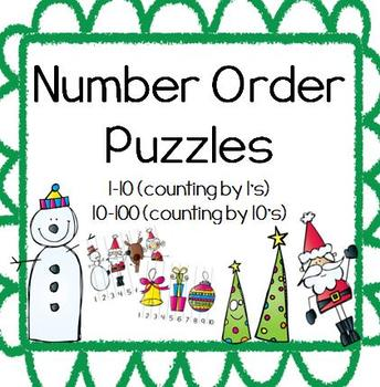 Number Order Puzzles