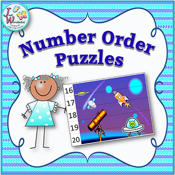 Number Order Math Centers and Games