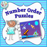 Counting and Number Order Math Centers and Games / Puzzles