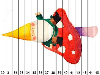 Number Order / Counting Puzzles Up to 120