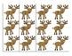 Number Order Reindeer Line Up