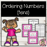 Number Order Scoot - 2 Digit Numbers (Tens)
