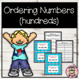 Number Order Scoot - 3 Digit Numbers (Hundreds)