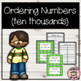 Number Order Scoot - 5 Digit Numbers (Ten Thousands)