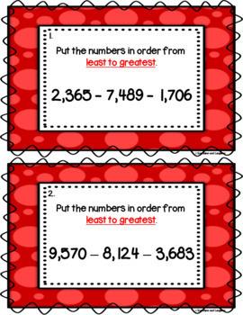 Number Order Scoot Bundle
