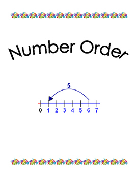 Number Order Skip Counting Practice