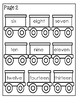 Number Order Train ~ Numbers 1-14