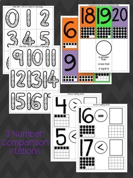 Number Order and Comparisons Stations