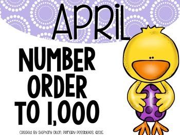 Number Order to 1,000 {April}