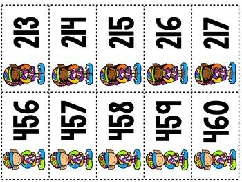 Number Order to 1,000 {December}