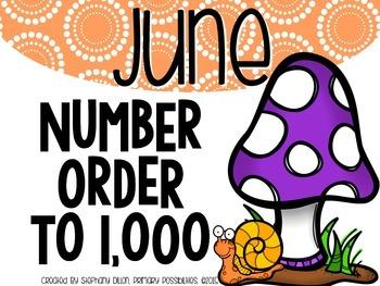Number Order to 1,000 {June}