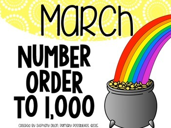 Number Order to 1,000 {March}