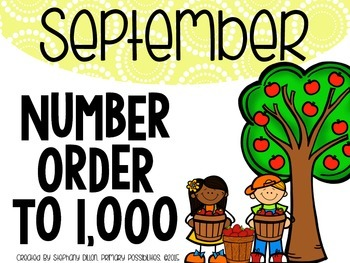 Number Order to 1,000 {September}