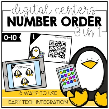 Number Order to 10 - Digital Math Centers