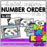 Number Order to 100 - Digital Math Centers