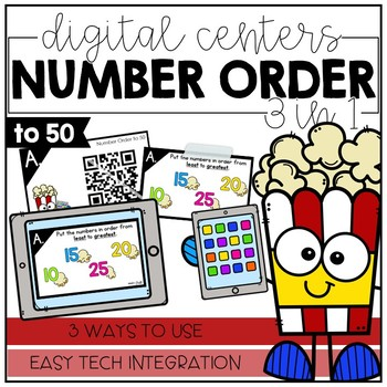 Number Order to 50 - Digital Math Centers