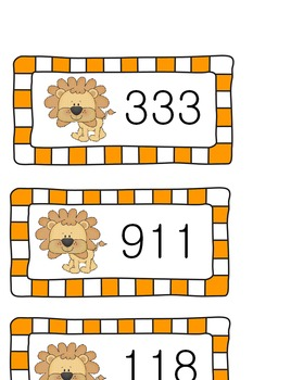 Number Order to the Hundreds Place/ Ordering Numbers