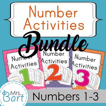 Number Pack Bundle {Packs 1-3}