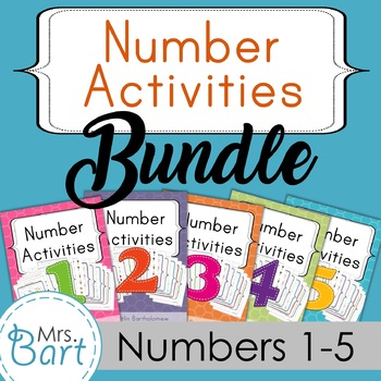 Number Pack Bundle {Packs 1-5}