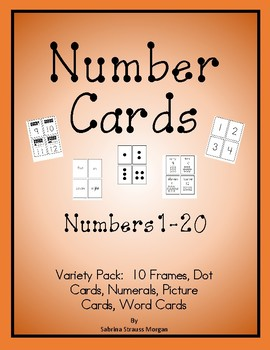 Number Pack - Variety Card Pack up to 20