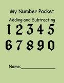 Number Packet Single Digit