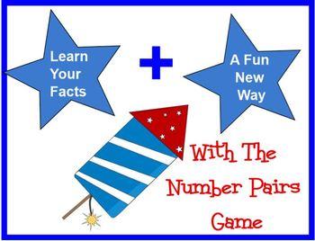 PRINTABLE Number Pair Card Game