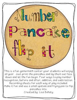 Number Pancke Flip It!  1-50