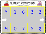 Number Parking Lot Pack