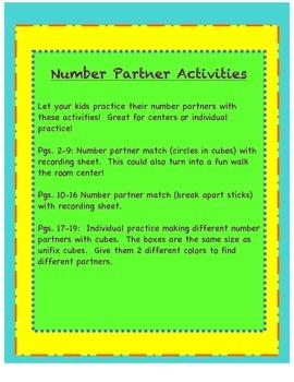 Number Partner Practice