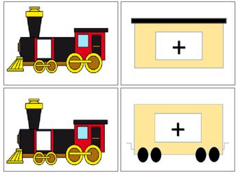 Number Partner Trains