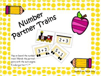 Number Partner Trains