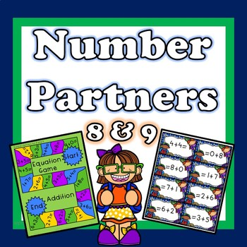 Number Partners For 8 and 9