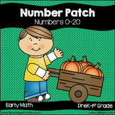 Number Patch (4 Activities for Learning 0-20)