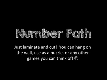 Number Path