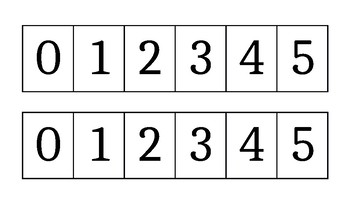 Number Paths 0-5