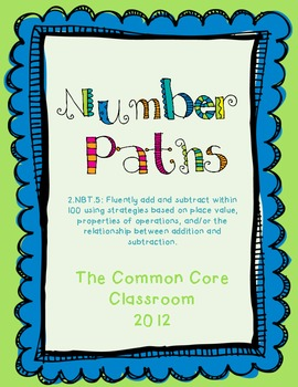 Number Paths: 2.NBT.5 Fluently add and subtract within 100