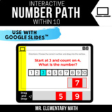 Number Paths within 10 | Google Classroom™ | Distance Learning