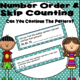 Skip Counting Number Patterns-Can You Continue the Pattern?