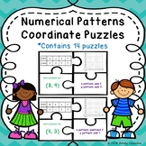 Number Pattern Center Ordered Pairs Activity Coordinate Plane Game Puzzle 5.OA.3