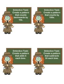 Number Pattern Detectives - Three-Digit Numbers