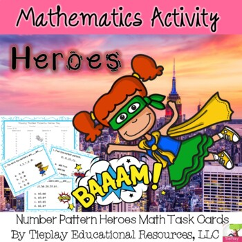 Number Pattern Heroes Math