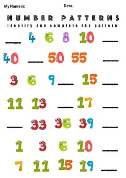 Number Pattern Introduction