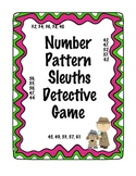 Number Pattern Sleuth Detective Activity