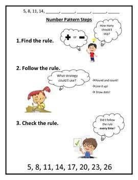 Number Pattern Steps