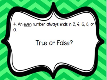 Number Pattern Task Cards {3.OA.9}