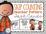 Number Pattern and Skip Counting Task Cards